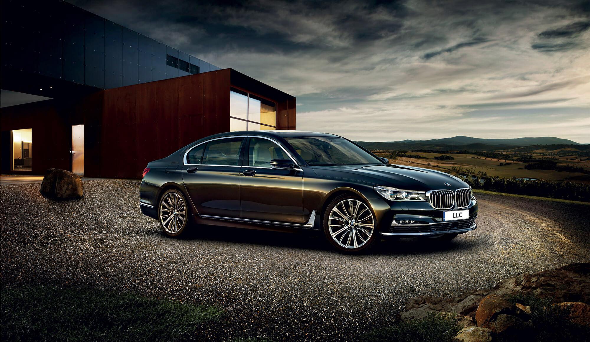BMW Landscape Background
