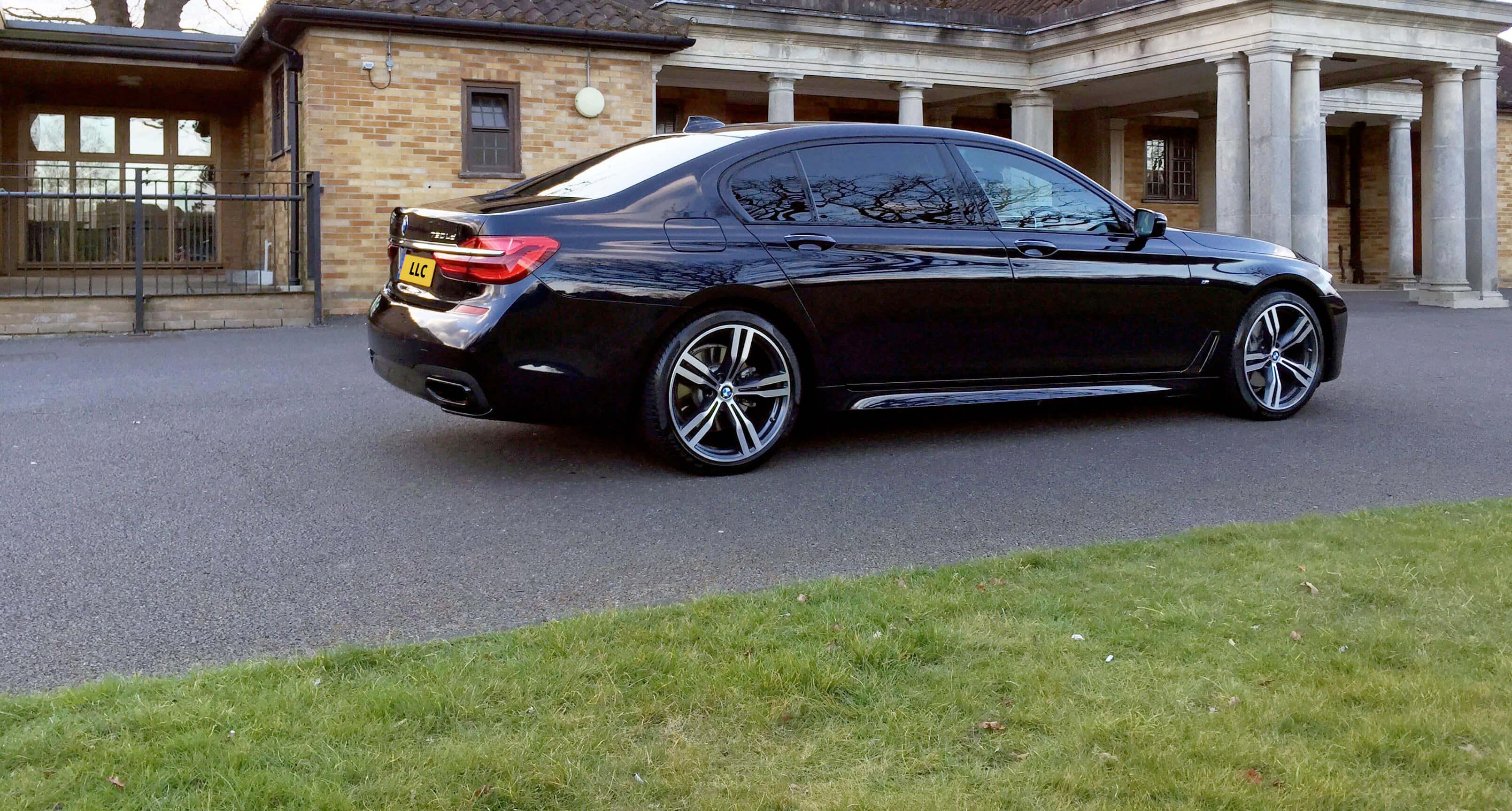 BMW Back View
