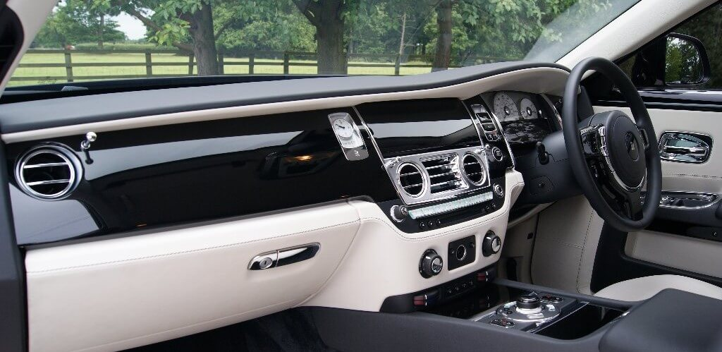 Rolls Royce Ghost Dashboard