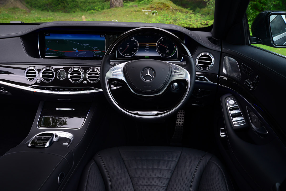 Mercedes S Class Chauffeur London Llc