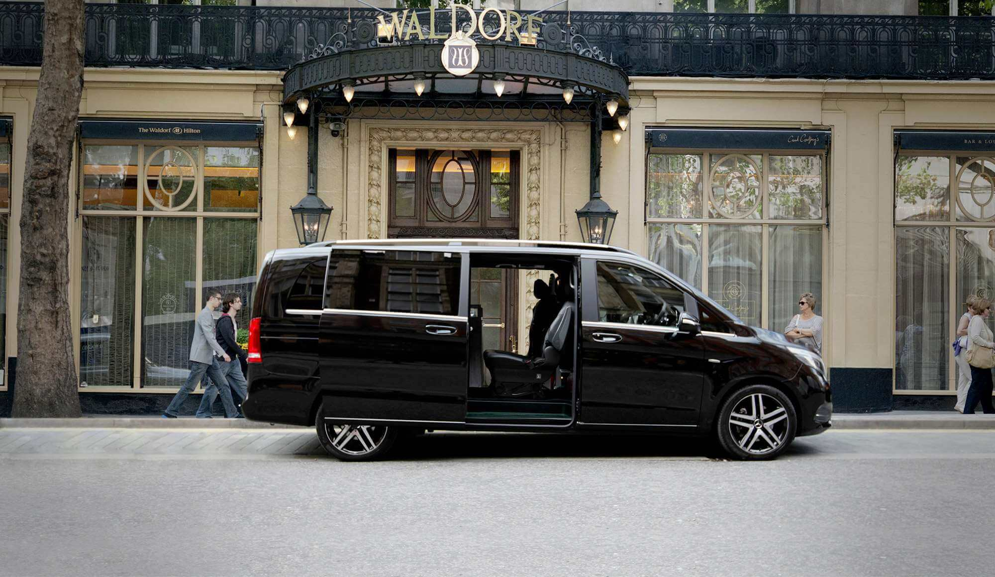 Mercedes V Class - Luxury Chauffeured Vehicle