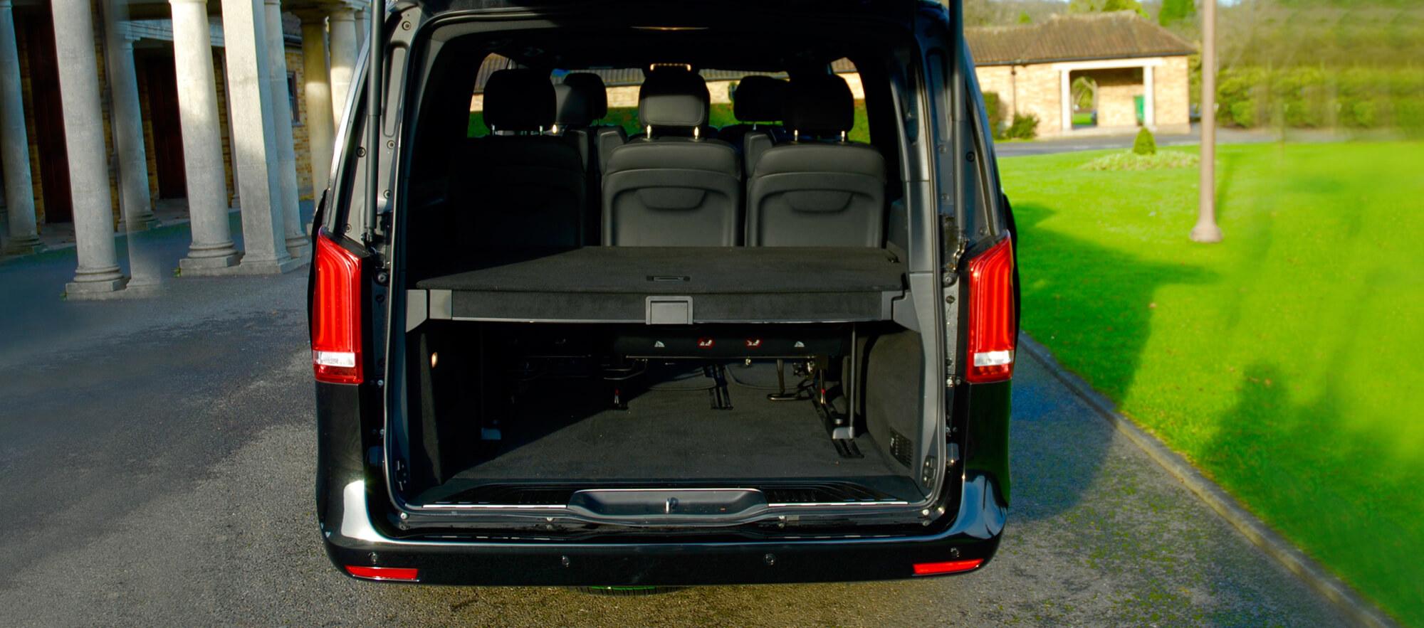 Mercedes V Class Storage