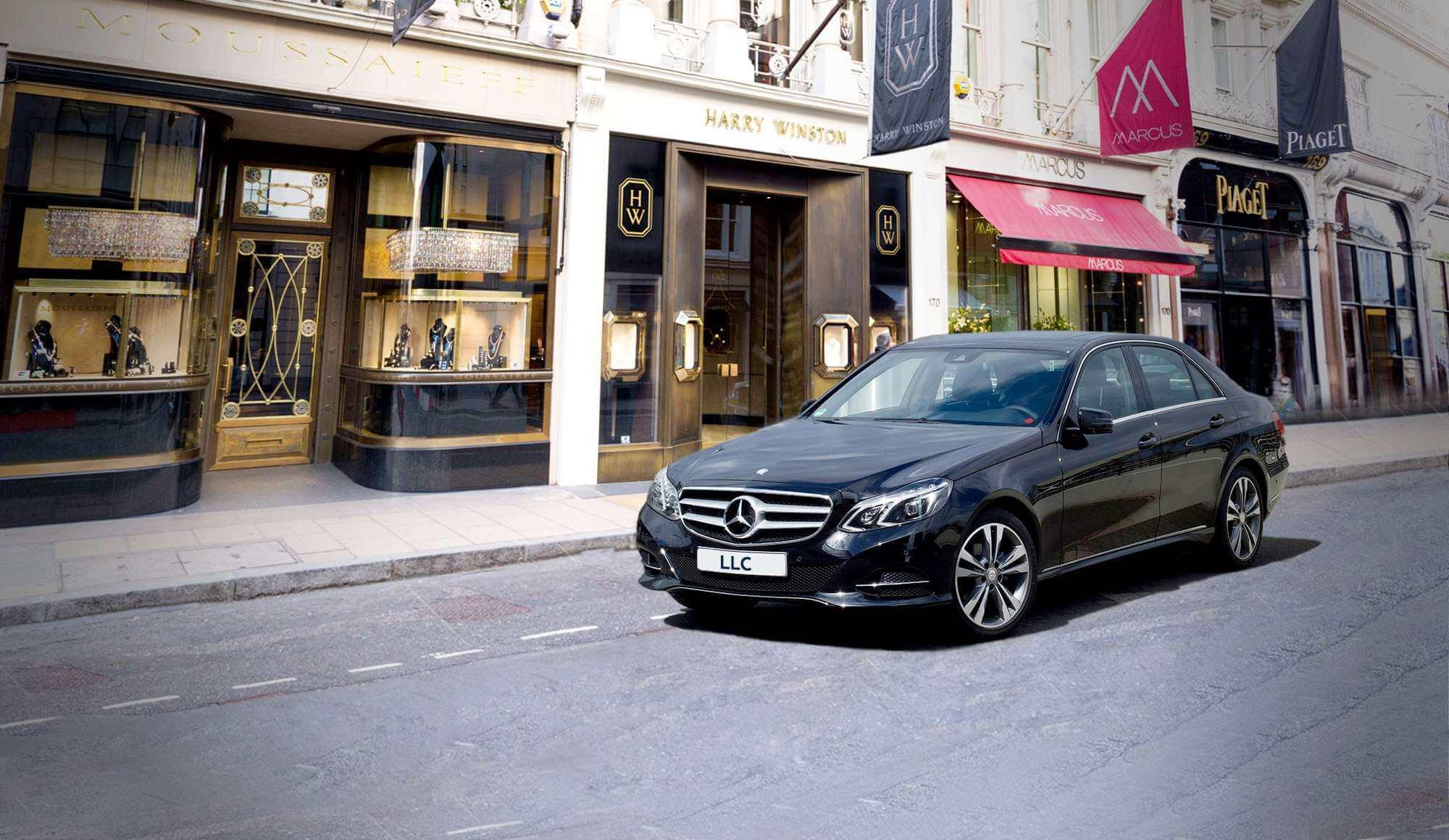 Mercedes E Class Hire With Chauffeur in London | LLC