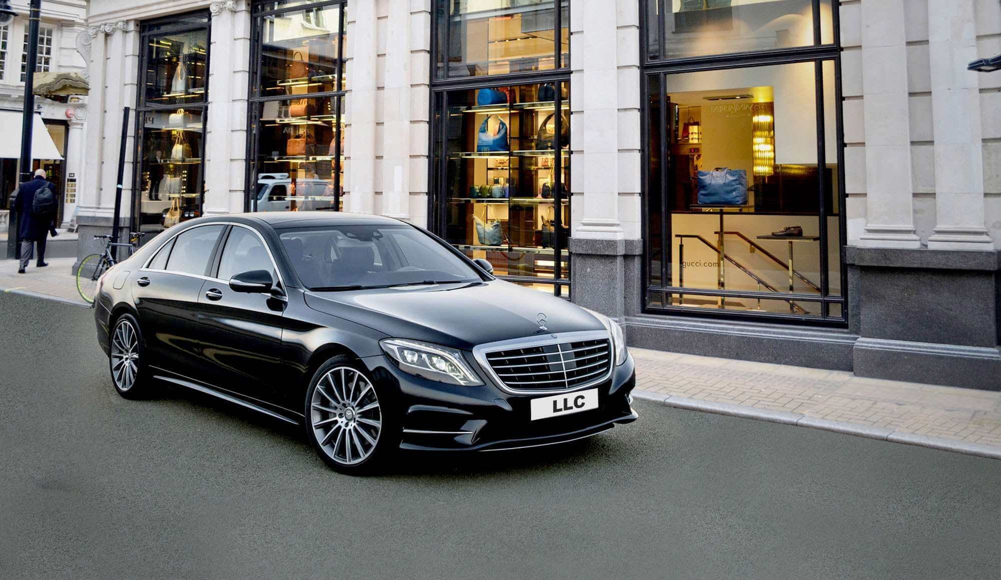 Mercedes S Class Hire With Chauffeur In London Llc