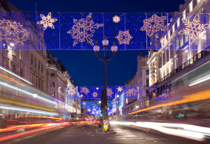 Take a Tour of the London Christmas Lights