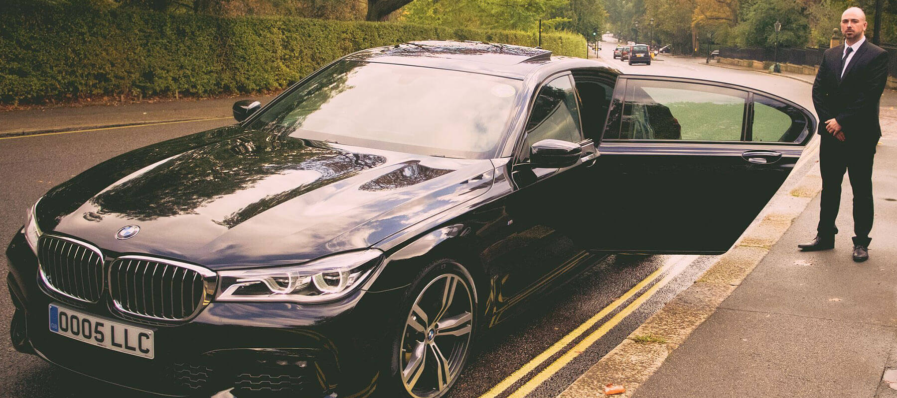 BMW 7 Series with Chauffer