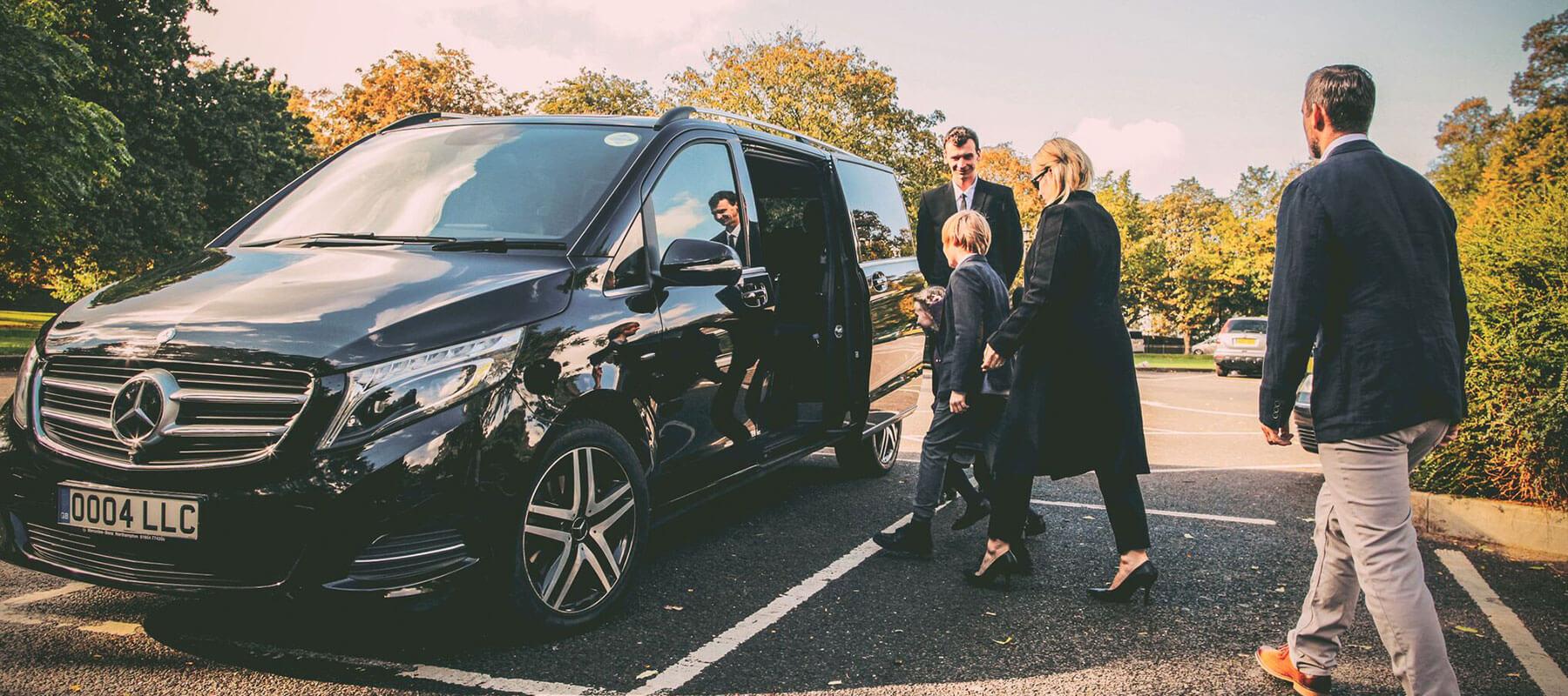 Mercedes V Class Chauffer