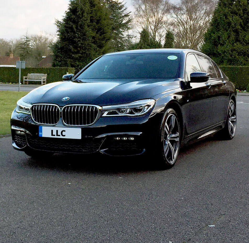 Bmw 7 Series: BMW 7 Series Hire With Chauffeur In London
