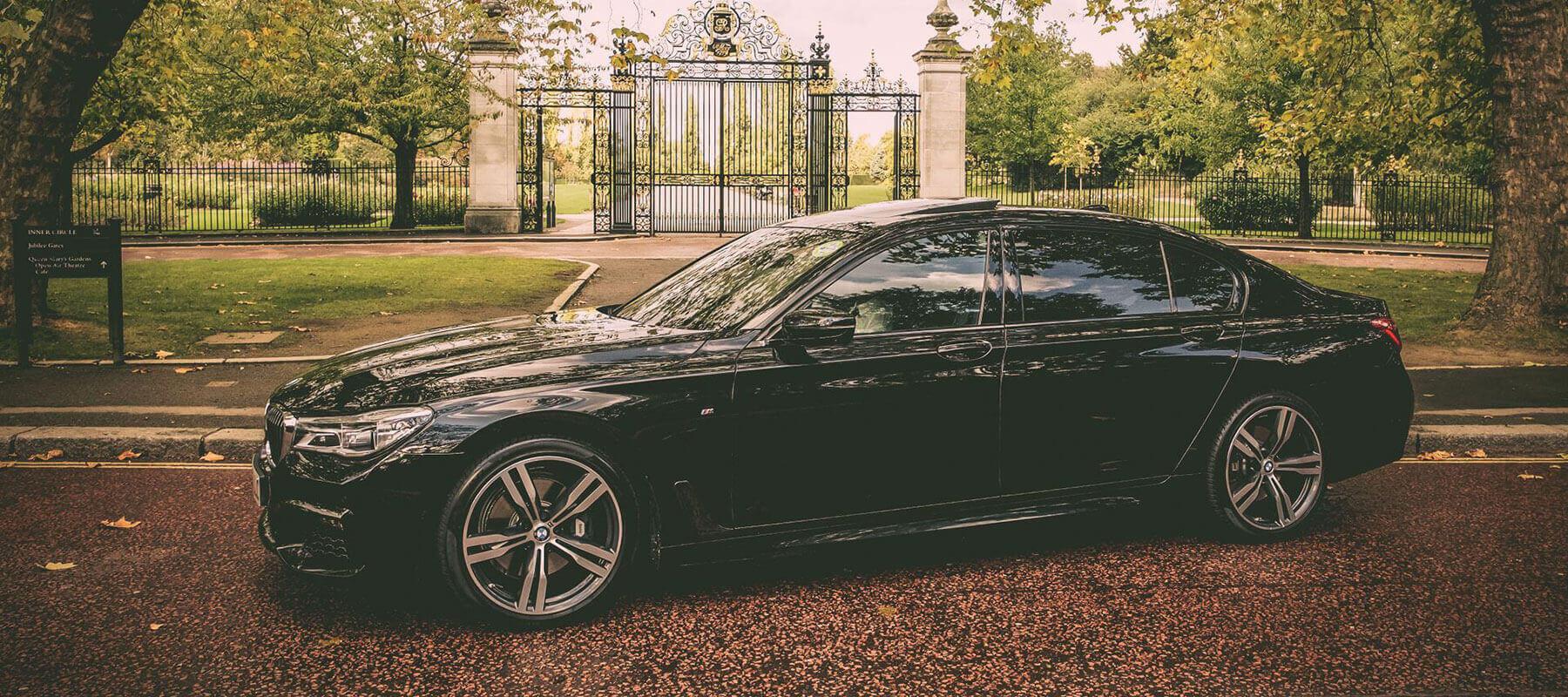 bmw 7 series wedding car