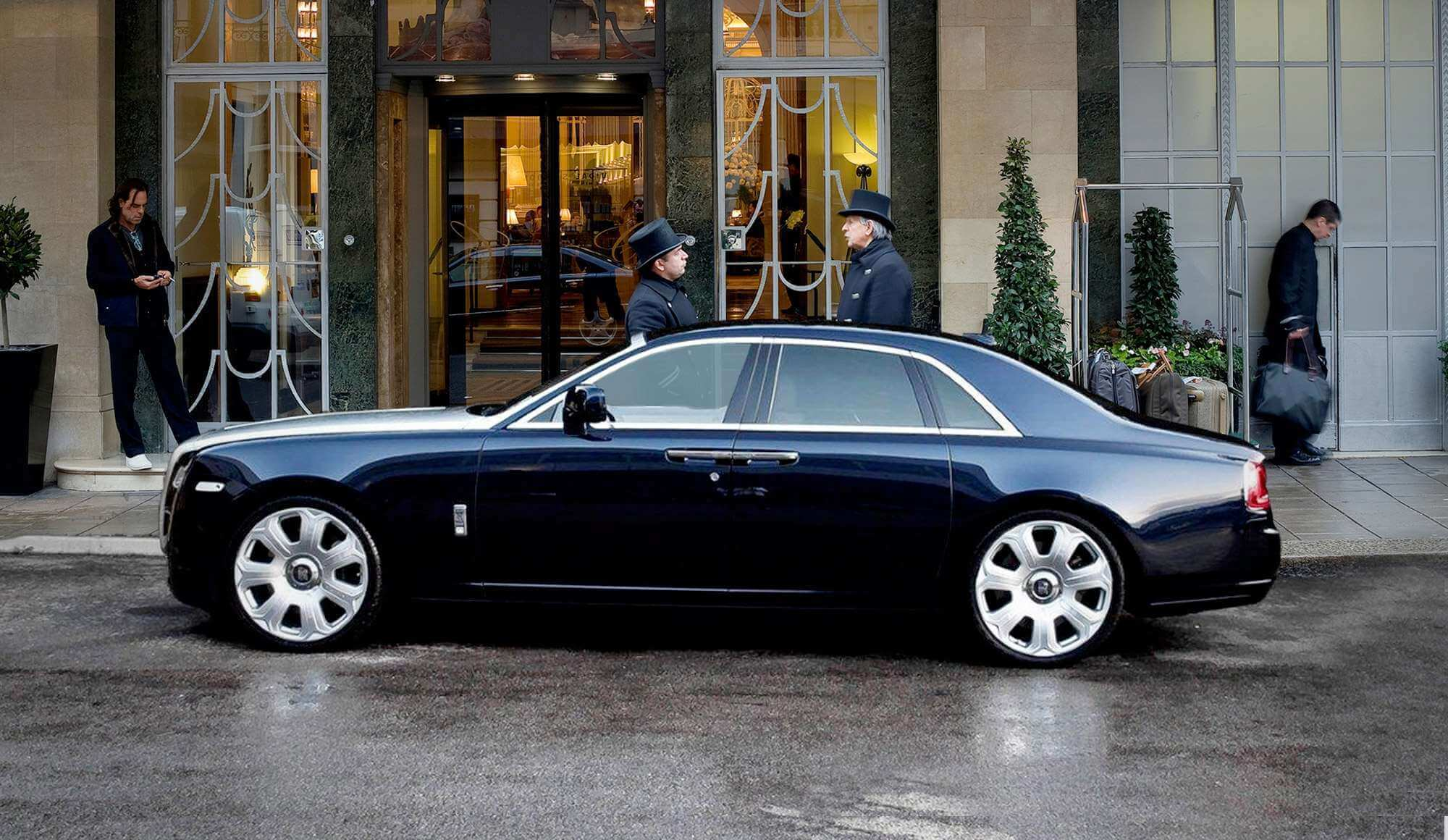 luxury events london chauffeurred car
